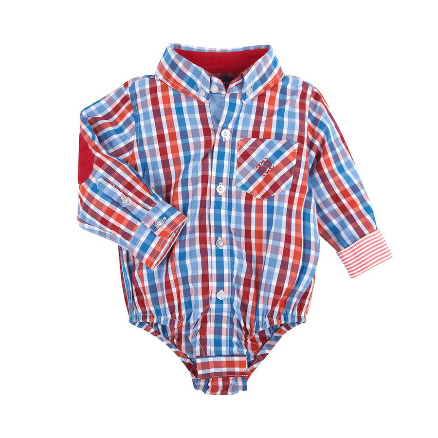 Mameluco Red Plaid