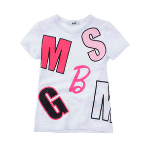 Playera Pink & White Barbie