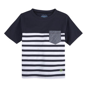 Playera Stripe Pocket