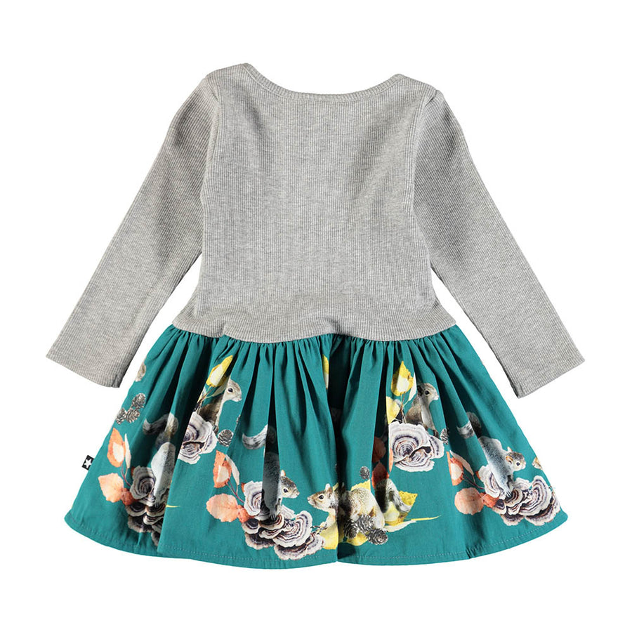 Vestido Playful Squirrels Baby