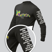 Load image into Gallery viewer, Mardi Gras  Marrero  Long Sleeve Tee