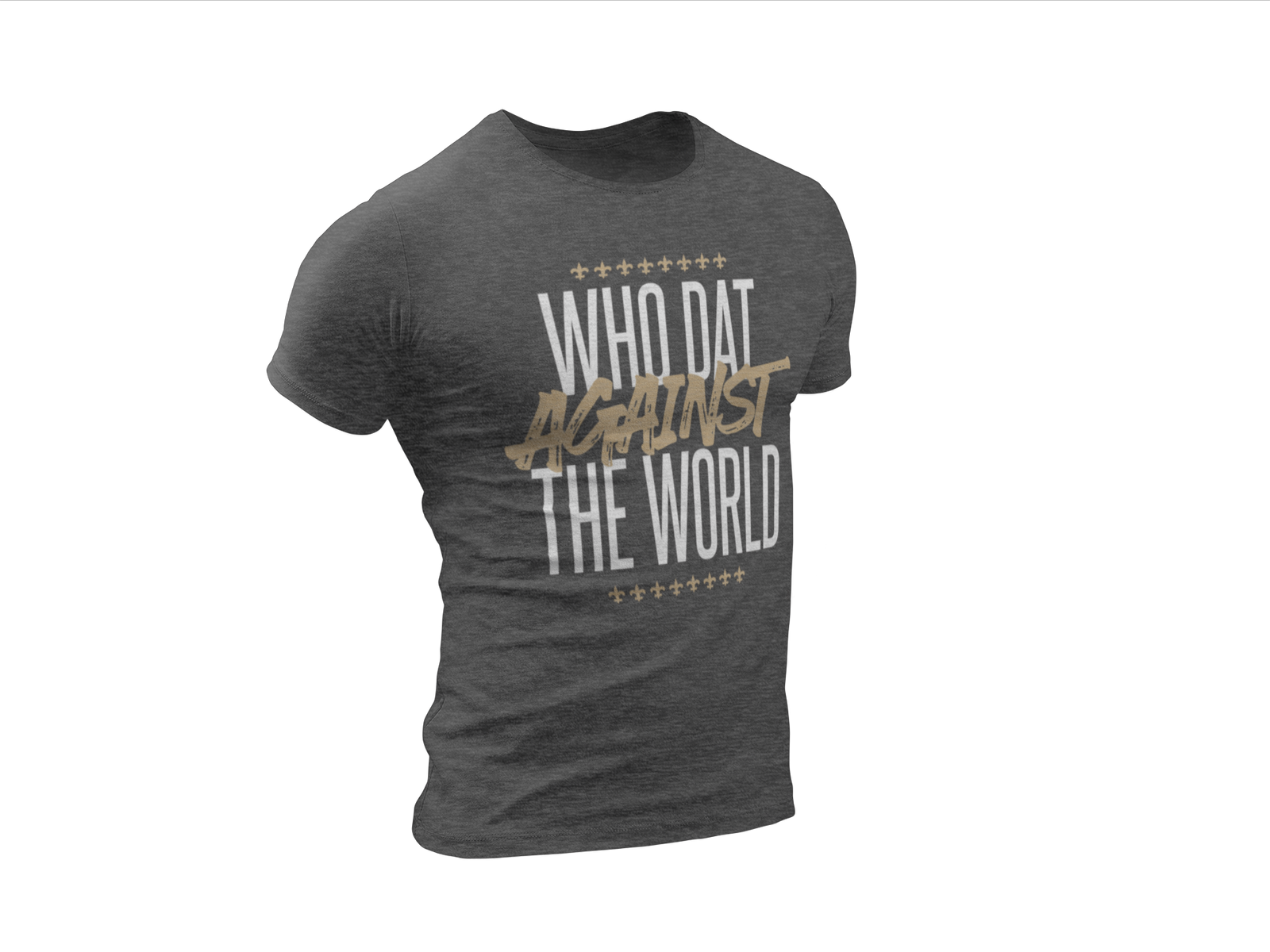 Load image into Gallery viewer, Who Dat against the World Unisex Tee