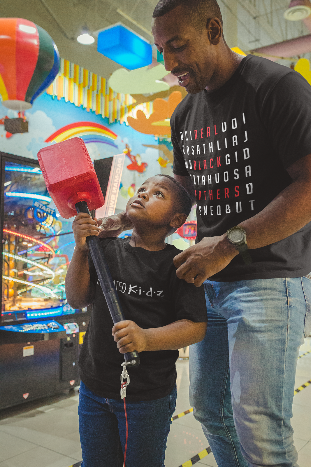Load image into Gallery viewer, Real Black Fathers Tee