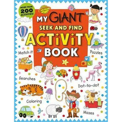 My Giant Seek and Find Activity Book