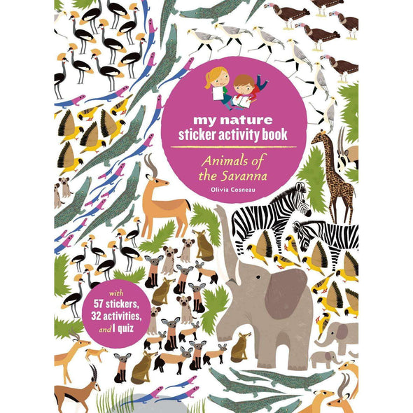 Animals of the Savanna Activity Book