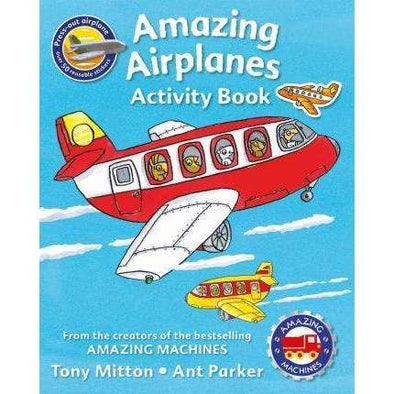 Amazing Airplanes Activity Book