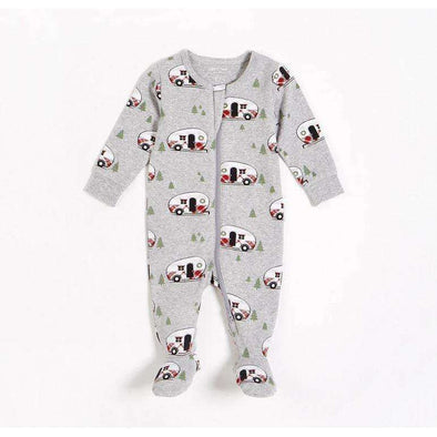 "Heather Grey ""Holiday Vacation"" Sleeper - Size 24M"