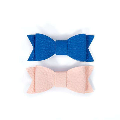 Duo Small Hair Curls - Pink Blush and Cobalt Blue