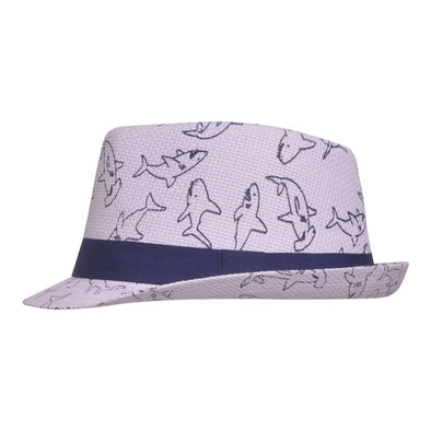 UPF 50+ Fedora Hat - Ocean Club