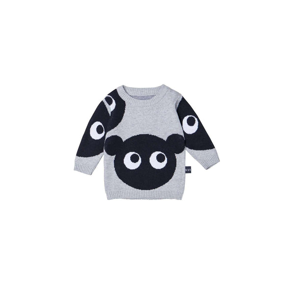 Shadow Bear Knit Jumper