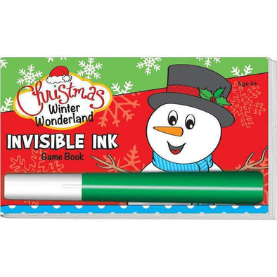Christmas Winter Wonderland Invisible Ink Game Books
