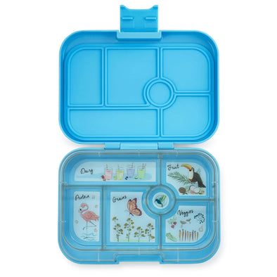 Yumbox Original 6-compartment food tray - Nevis Blue
