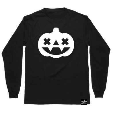 Glow in the Dark Kawaii Pumpkin Shirt