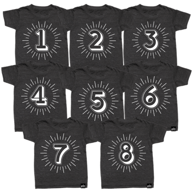 Milestone Number T-Shirts