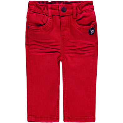 Baby Boy Red Pants