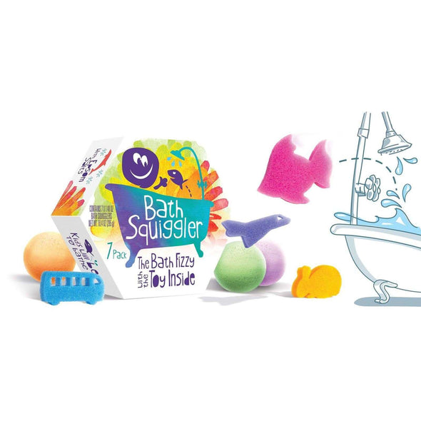 Bath Squiggler - 7 Pack