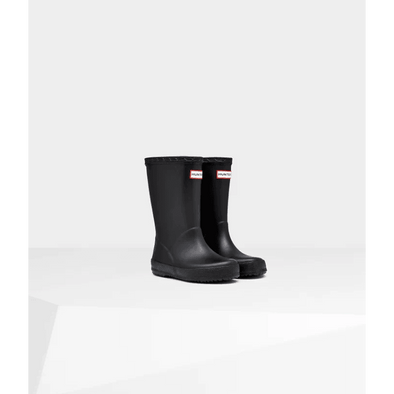 Original Kids First Classic Rain Boots: Black