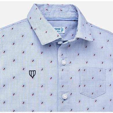 Blue Fantasy Button Up Shirt