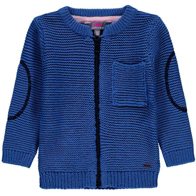 Blue Zip Up Cardigan - Size 6M