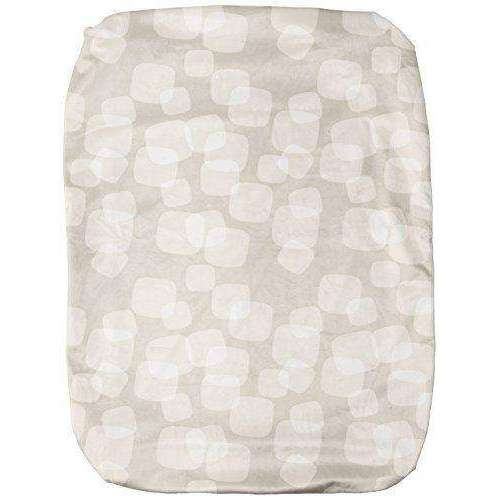 Breeze Playard Waterproof Bassinet Sheet - Silver