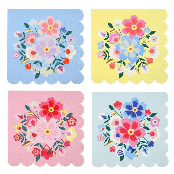 Bright Floral Napkins