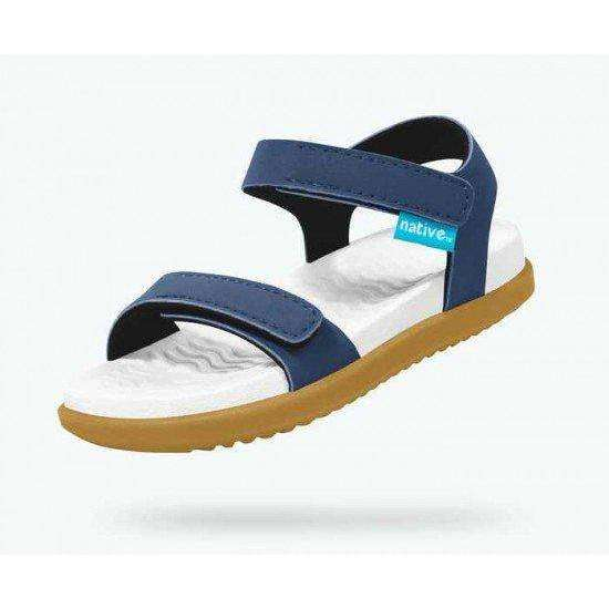 Charley - Regatta Blue / Shell White / Toffee Brown