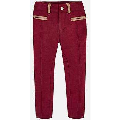 Cranberry Long Knit Pants