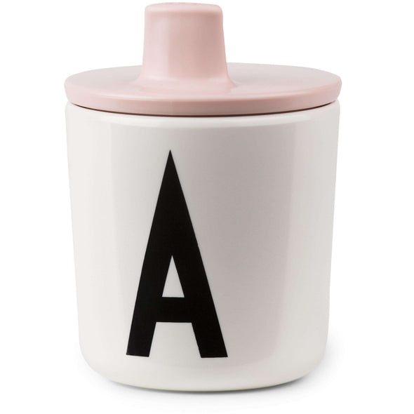 Design Letters Drink Lids for Melamine Cups