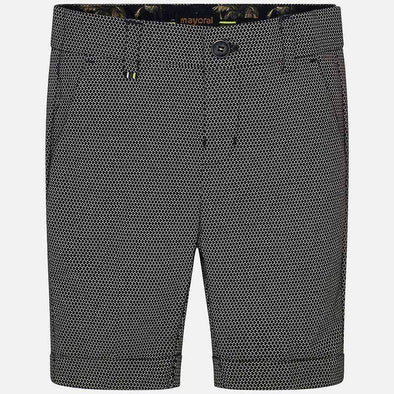 Formal Linen Burmuda Shorts
