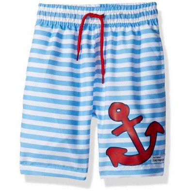 UPF 50+ Sailor Swim Trunk w/ Mesh Liner