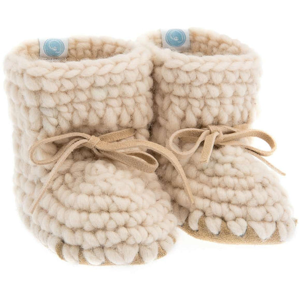 Ivory Sweater Moccs