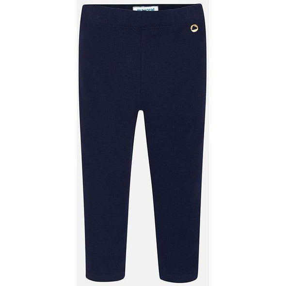 Navy Basic Leggings