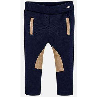 Navy Skinny Fit Riding Leggings