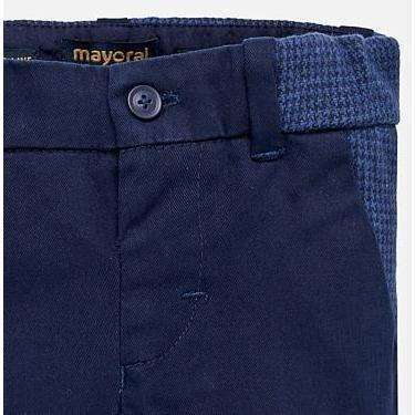 Navy Slim Fit Baby Boy Trousers