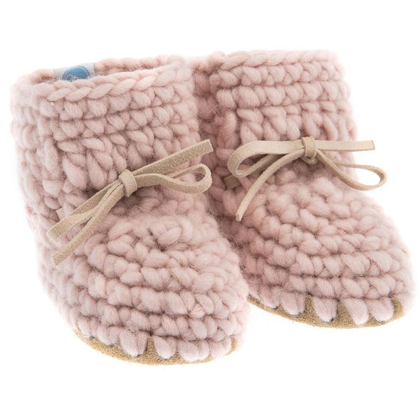 Pink Sweater Moccs