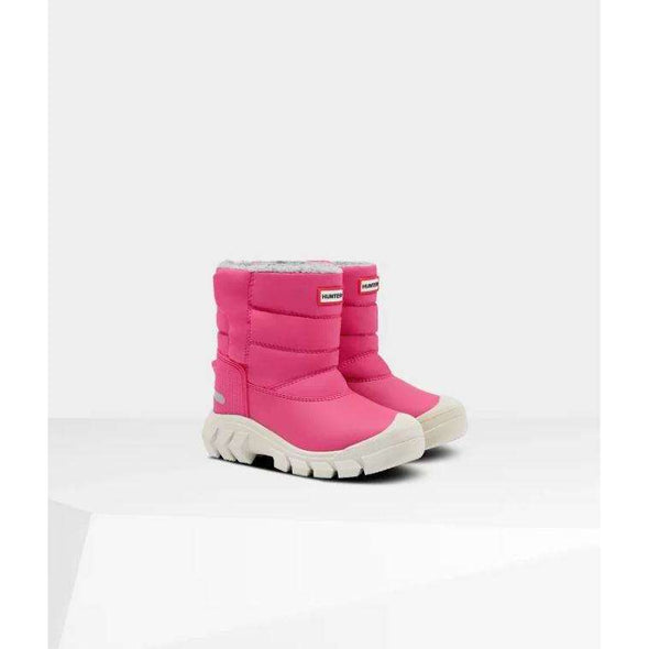 Original Little Kids Insulated Snow Boots: Bright Pink