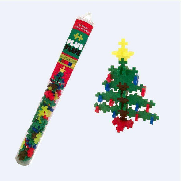 Plus Plus Christmas Tree Tube