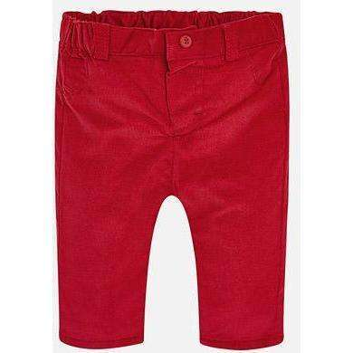 Red Cord Pants - Size 4-6M