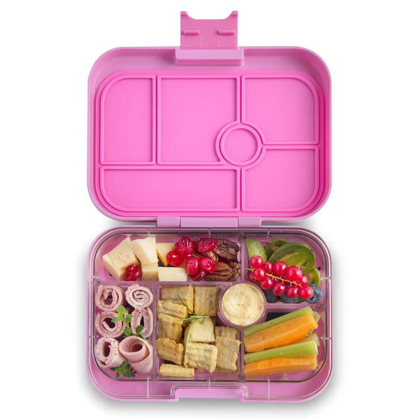 Yumbox Original 6-compartment food tray - Stardust Pink