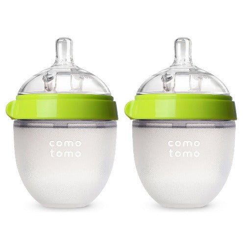 Comotomo Natural Feel Baby Bottle - Double 5 Oz