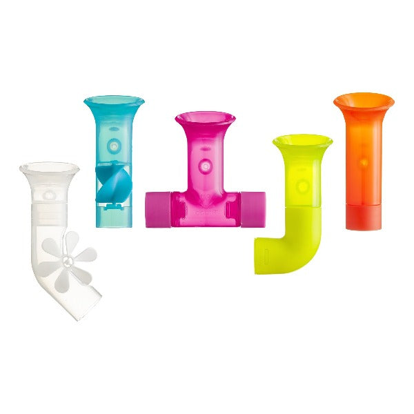 Boon Pipes 5-Piece Building Bath Toy Set