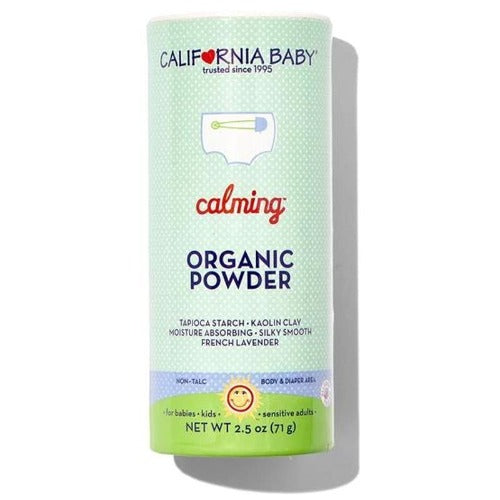 California Baby Calming Organic Powder 2.5oz