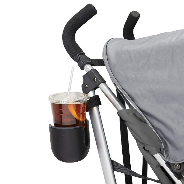 OXO Tot Universal Stroller Cup Holder in Black/Grey