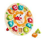 Hape - Chunky Clock Puzzle Toy