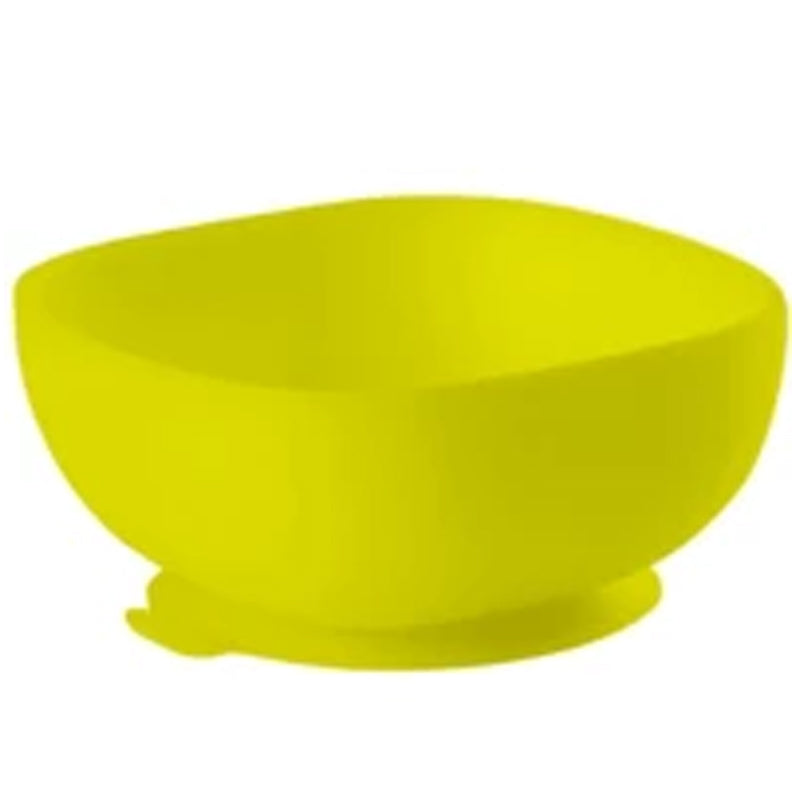 BÉABA® Silicone Suction Bowl in Neon Green