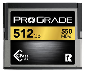 ProGrade Digital CFast™ 2.0 Memory Card