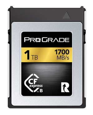 ProGrade Digital CFexpress™ Memory Card (Gold) 1700