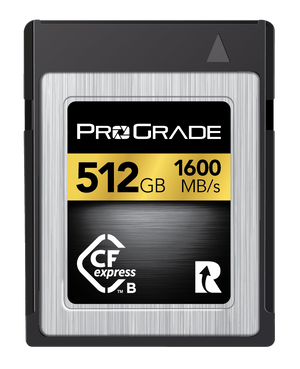 ProGrade Digital Gen 1 CFexpress™ Memory Card (Gold)