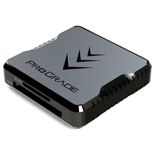 CFast and SD UHS-II Dual-Slot Memory Card Reader by ProGrade Digital | USB 3.2 (PG02)
