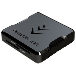 SD UHS-II Dual-Slot Memory Card Reader by ProGrade Digital | USB 3.2 Gen 2 (PG08)